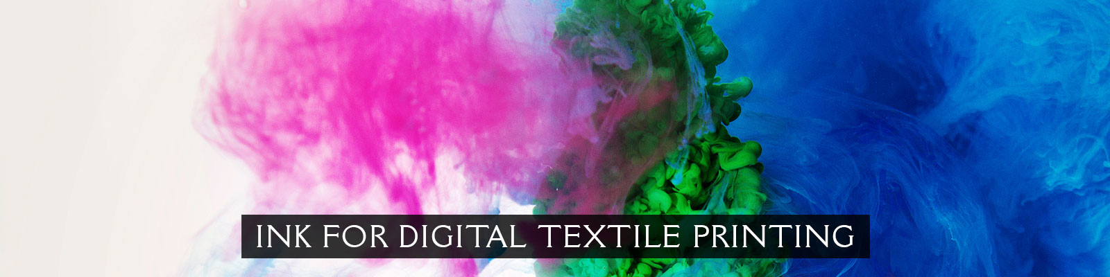 INK FOR DIGITAL TEXTILE PRINTING